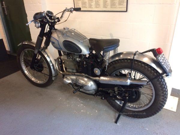 1952 Triumph Trophy Special