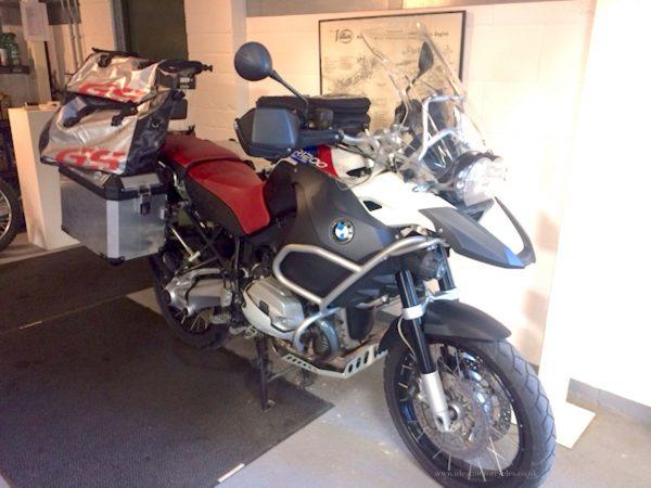 2010 BMW R1200 GS Adventure TU
