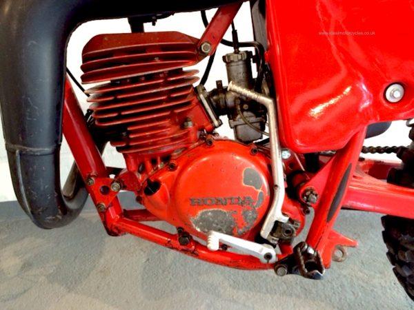 1978 Honda Red Rocket CR250