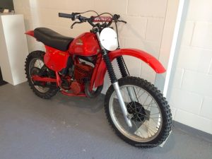 1978 Honda Red Rocket CR250