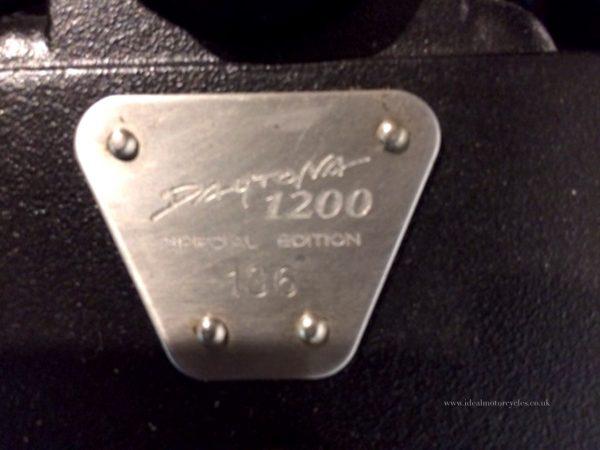 1998 Triumph Daytona 1200SE
