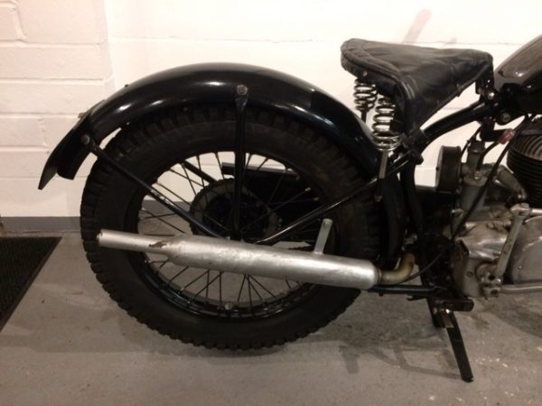 1953 Francis-Barnett Ridgid Trials 197cc
