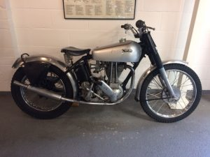 1949 Norton 500 Trials