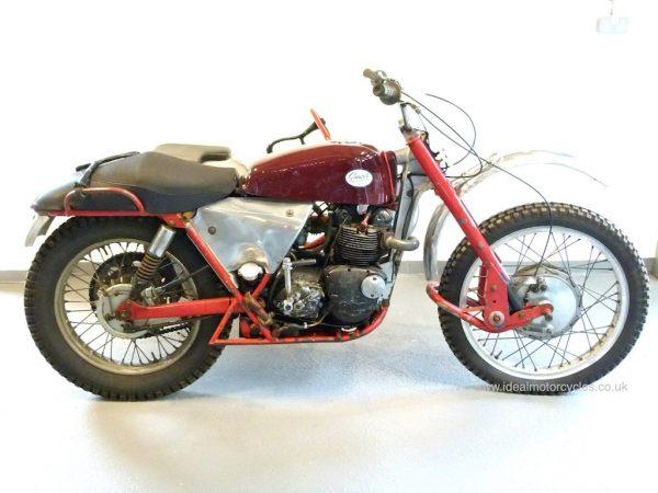 1960 Greeves-Triumph Trials Combination